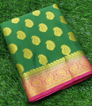 Sudarshan silk latest new designer crape silk saree