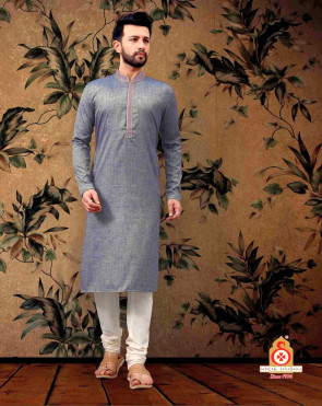 NEW DESIGNER  MEN TRADITIONAL KURTA PYJAMA SET