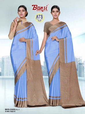 Sudarshan Family Store latest Fancy ATS_11 maya chaya Multi Design Various printed  Synthetic Crape Saree