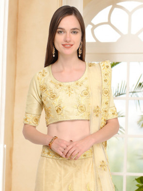 Sudarshan Family Store Wedding and Festival collention  Semi Stitiched Lehenga with Unstitiched choli