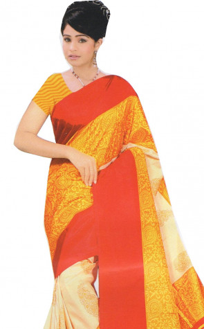 Latest Synthetic designer saree
