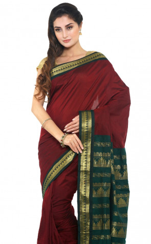 SUDARSHAN COTTON SAREE