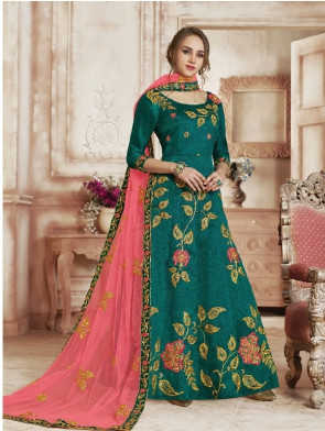Wedding and Festival collection  Semi Stitiched Ghagra with Unstitiched choli - ( OLIVIA )