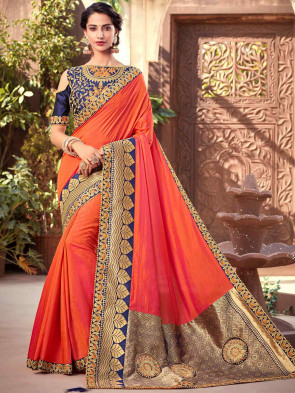 Indian Women Latest Art Silk saree
