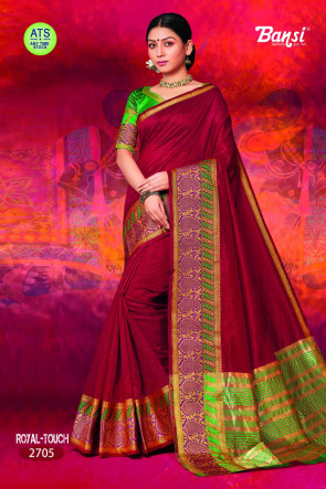 Sudarshan Family Store latest Fancy ATS_16 royal toch Multi Design Various printed Sana SilkSaree